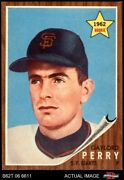 1962 Topps 199 Gaylord Perry Giants 7 - Nm