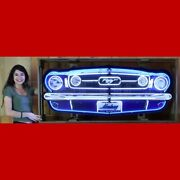 Mustang Grill Neon Sign.andnbsp 5and039 Wide In Canned Frame.andnbsp Amazing Piece
