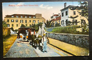 1938 Madeira Portugal Picture Postcard Cover To Vancouver Canada Palace Hotel