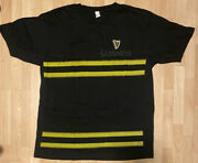 Guinness Support Our Fire Department Promo Tee T Shirt Xl Euc