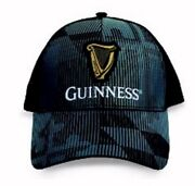 Guinness Ghost Flag Mesh Back Embroidered Cap Hat - New Fast Free Ship