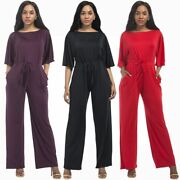 2020 Women Clothes Jumsuit Rompers Sexy Salsh Elegant Spring Summer Jumpers Suit