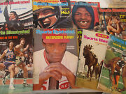Sports Illustrated Magazine Vintage Lot Leon Spinks Fred Lynn Kentucky Derby 70s
