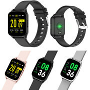 Unlocked Bluetooth Smart Watch Heart Rate Monitor For Women Men Android Phones