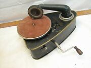 Child's Phonograph Bing Valoretta Toy Record Player Victrola Germany Portable
