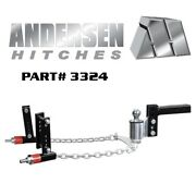 Andersen No-sway Weight Distribution Hitch 4 Drop/rise 2.0 Ball 3-6 Frames