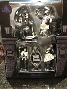 Disney Haunted Mansion Glow In The Dark Ornament Set New 2020 Stretching Canvas
