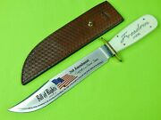 Vintage Us Limited 31/50 Marbles Freedom Huge Bowie Fighting Knife Sheath