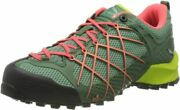 Salewa Womenand039s Trekking And Hiking Boots Low Rise Shoes 6 Myrtle/tender Shot
