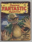 1946 Volume 8 1 Issue Of Famous Fantastic Mysteries Island Of Dr Moreau