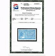Exceptional Genuine Scott E4 Mint Og Nh Pse And Pf Certs Very - Scarce As Nh Cert