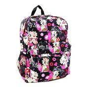 Betty Boop Microfiber Large Backpack With 16 Inches Height Multi
