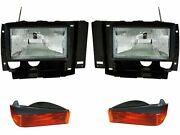 Headlight Assembly And Parking Light Kit Fits Ford Ranger 1989-1992 15nfsw