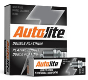 4 X Double Platinum Spark Plug For Toyota Corolla Ae82r Ae101r 4a-ge 4afe 1.6 I4
