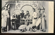 1911 Hong Kong Real Picture Postcard Cover To Berlin Germany Chinese Court
