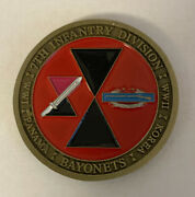 7th Infantry Division Wwi Wwii Panama Korea Fort Carson Coin B20