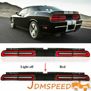 Led Tail Light Lamp Fits For 08-2014 Dodge Challenger Sequential Indicator
