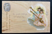 1901 Stolberg Germany Picture Postcard Cover To Greussen Chinese Girls