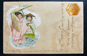 1901 Stolberg Germany Picture Postcard Cover To Greussen China Chinese Girls