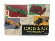Tootsietoy Road Construction Assortment No. 6000, Vintage 1950's, With Box