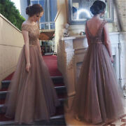 Women Formal Wedding Prom Ball Gown Evening Party Cocktail Bridesmaid Long Dress