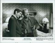 1992 Press Photo Jack Nicholson And Harry Dean Stanton In Man Trouble