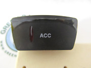 Gill Getter Pontoon Carling 3-terminal Acc Rocker Switch Black W/ Red Lens 20a 1