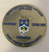 4-23 Task Force Tomahawks Operation Enduring Freedom 2009-2010 Challenge Coin R4