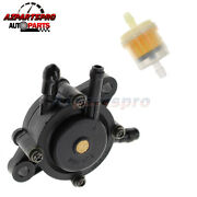 New Fuel Pump And Fuel Filter For Kawasaki 49040-0769, 49040-2075 15hp-25hp Engine