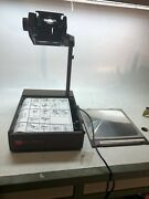 3m 6200agb Overhead Projector Folding Briefcase Portable Model 6200agb