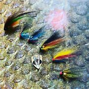 V Fly All Sizes Ultimate Alta Loop Bottle Salmon Tube Fly Collection 6 Options