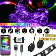Led 14pc Neon Accent Light Kit For Harley Davidson Cvo Street Glide Motorcycle