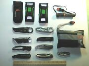 Collection Of New Gerber Folding Knives And Survival Gear