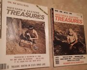Western And Eastern Treasures Magazine Civil War Coins Bottles Gold Silver Hunting