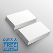 Plain White 300gsm Business Cards,thank You Cards, Glossy Or Silk / Card Blanks