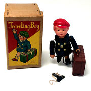 Vintage Alps Travleing Wind-up With Box Occupied Japan