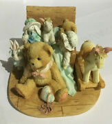 Cherished Teddies Christopher 950483 Old Friends Are The Best Friends Uib