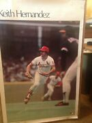Keith Hernandez - 1978 Sports Illustrated Si Poster 24 X 36 St Louis Cardinals