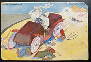 1918 Egypt Middle East Force Apo Picture Postcard Cover To Glasgow Scotland