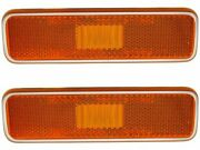 Front Side Marker Light Set Fits Plymouth Satellite 1972-1974 52ssdz