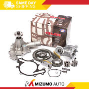 Timing Chain Kit Water Oil Pump Fit 96-04 Ford Thunderbird Mustang Mercury 3.8