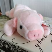 Ty Beanie Babies- Pink Squealer The Pig- Rare Style 4005 Collectible W/ Tags