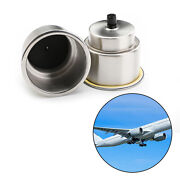 2 Pack Stainless Steel Cup Drink Holders Brushed For Marine Boat Rv Camper Truck