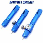 Refill Gas Cylinder Rechargeable 12g 8g Co2 Cartridges Mini Reusable Capsule Air