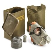 Us Military M9 Gas Mask Chemical Biological Army Marines Vintage M9a1 Gas Mask