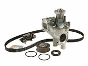 Contitech Timing Belt Kit And Water Pump Fits Vw Cabrio 1997-1998 47kyrj