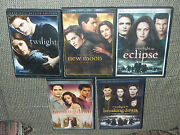 Twilight + New Moon Eclipse Breaking Dawn Part 1 And 2 Dvd's Des +special Editions