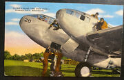 1942 Keesler Field Usa Air Force Po Picture Postcard Cover To Shamokin Pa