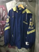 Notre Dame Starter Jacket Made In Korea Size Xl Excellent Condition