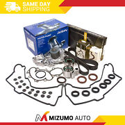 Timing Belt Kit Fit Cover Gasket Water Pump W/o Outlet Pipe Toyota 3.4 5vzfe
